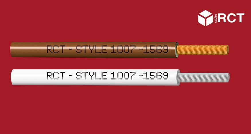 Certificado cable UL Style 1007 / 1569